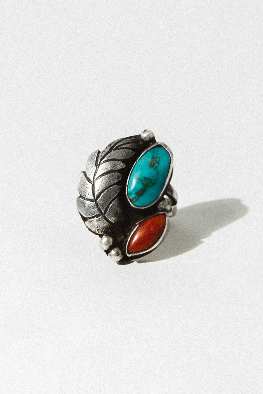 Child of Wild Jewelry US 5 / Sterling Silver / Turquoise-Coral rNA265
