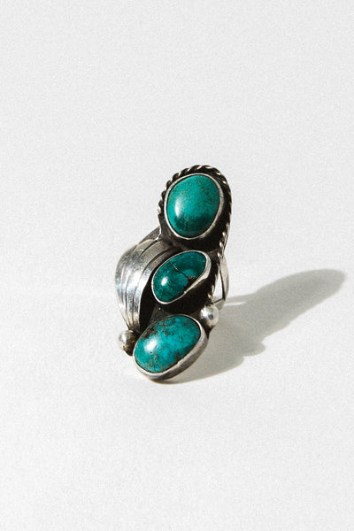 Child of Wild Jewelry US 5 / Sterling Silver / Turquoise Ninah Native American Ring