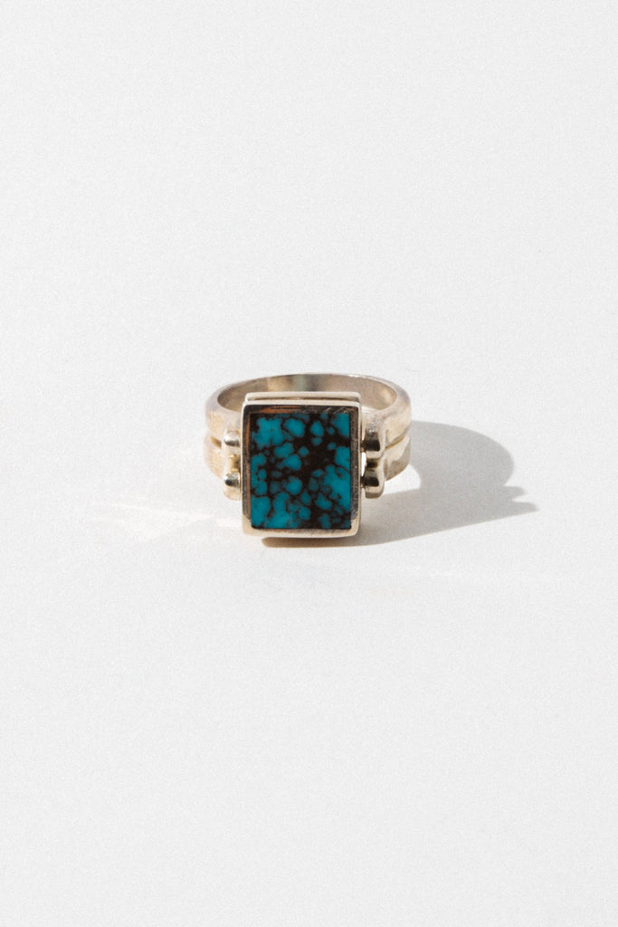 Child of Wild Jewelry Double Spirit Turquoise Ring