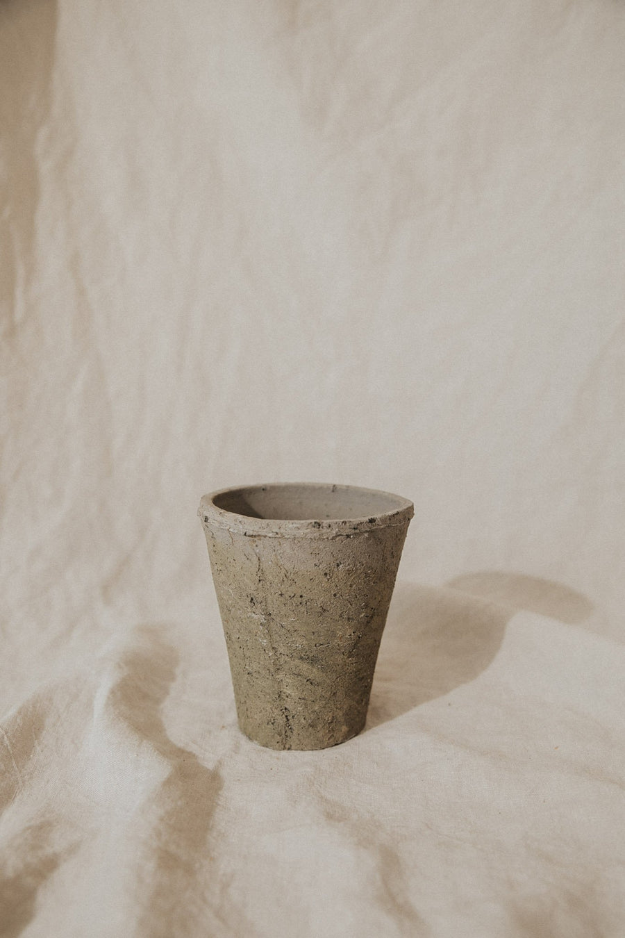Homart Objects Petite / Moss Grey / FINAL SALE Moss Grey Rustic Terracotta Pots