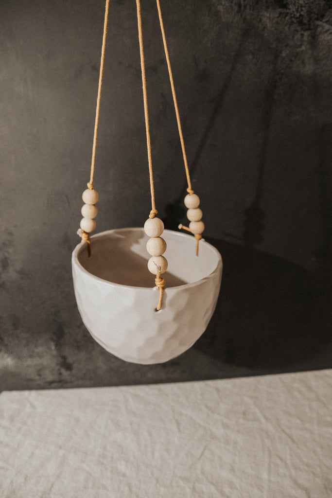 Bloomingville Objects White Noise Hanging Flower Pot