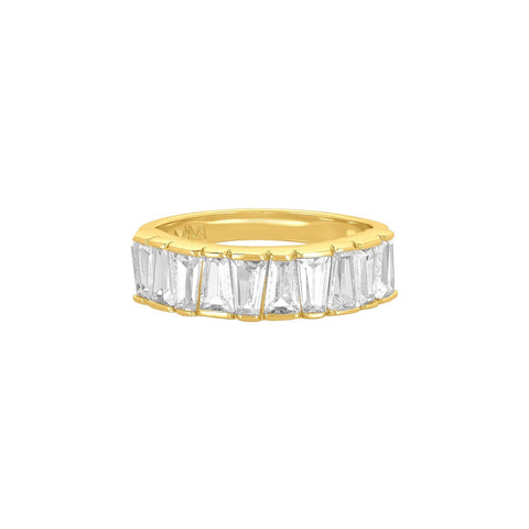 Melinda Maria Jewelry Gold / US 6 Queen's Band Ring