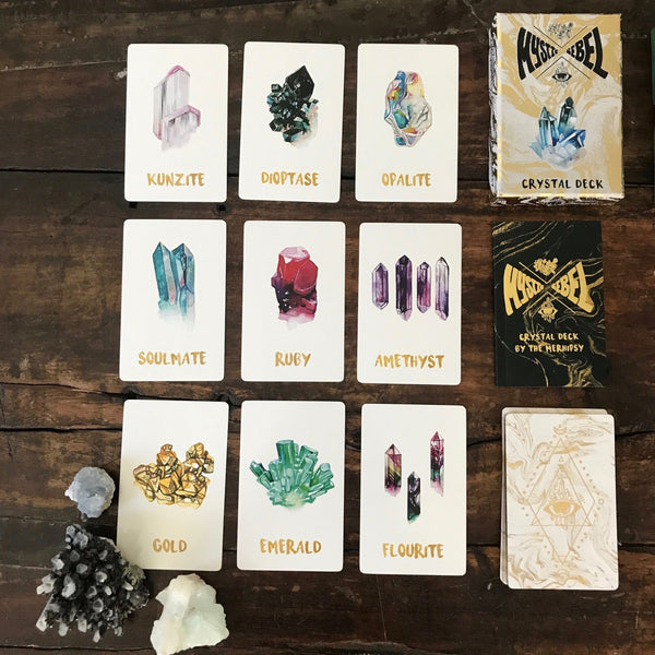 Mystic Rebel Objects Gold Mystic Rebel Crystal Deck