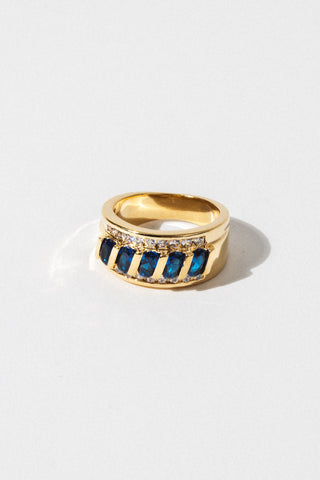 Sparrow Jewelry Blue Cypress Ring