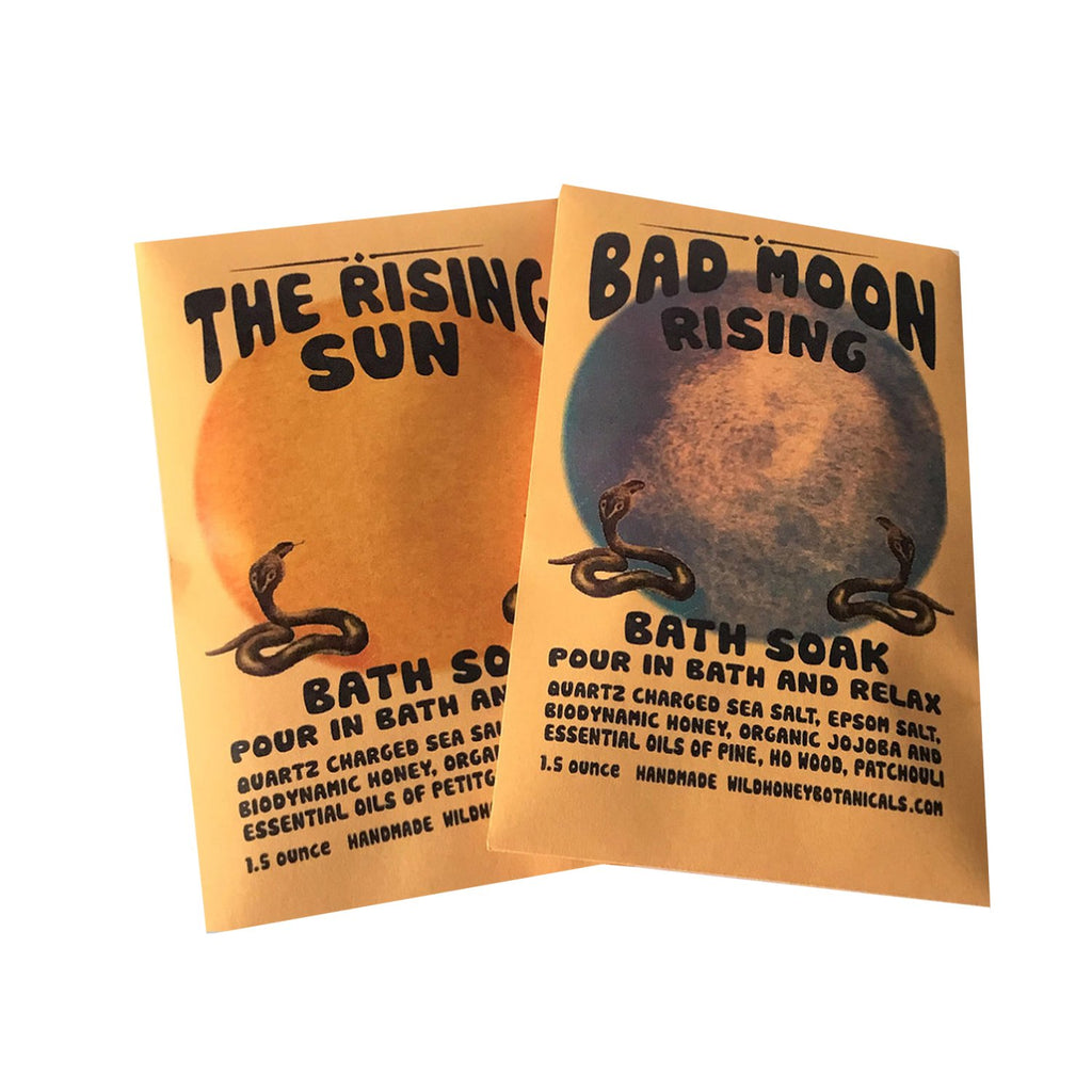 Wild Honey Apothecary Objects Bad Moon Rising / FINAL SALE Sun & Moon Bath Salts