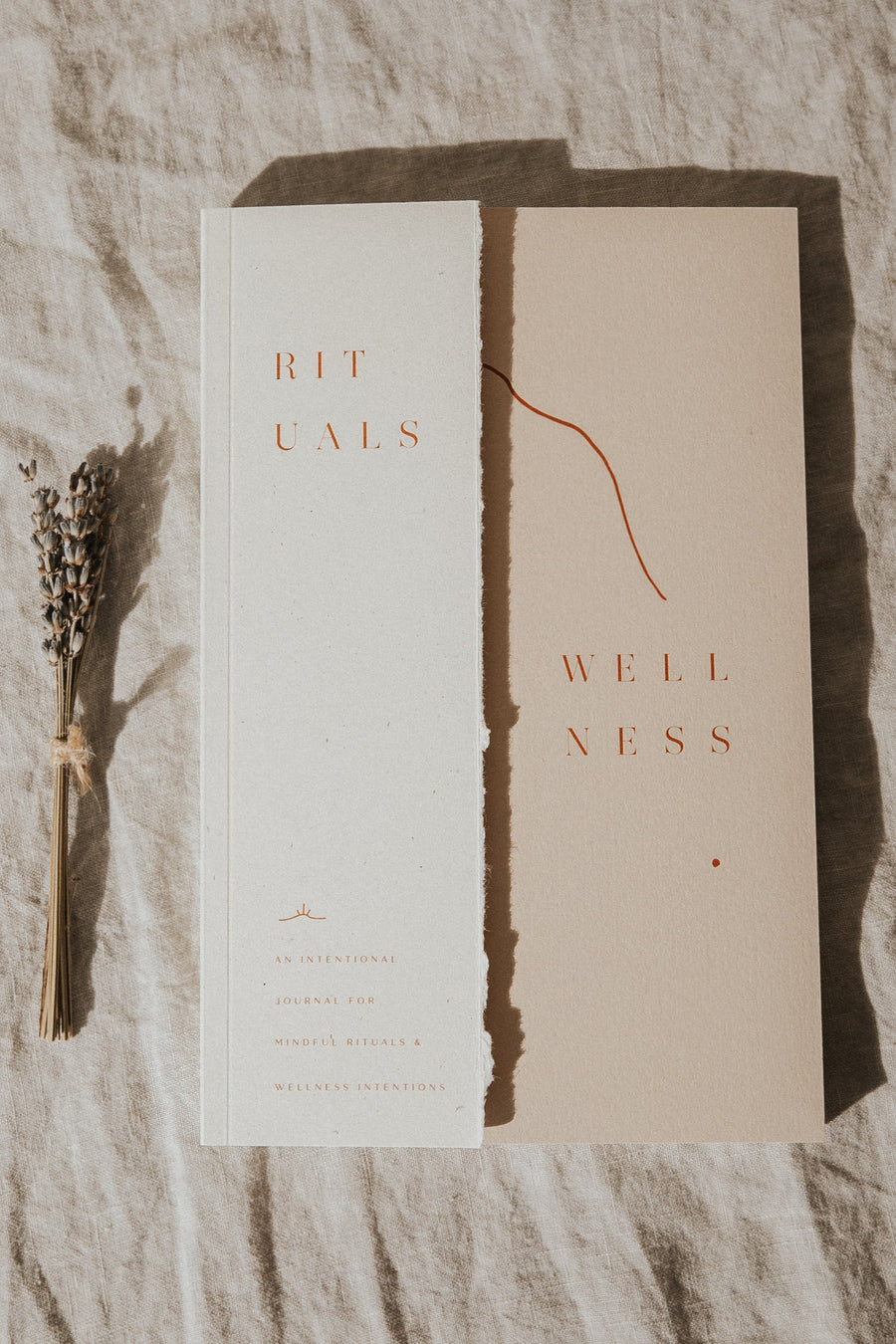 Wilde House Paper Objects White / FINAL SALE Rituals & Wellness Journal