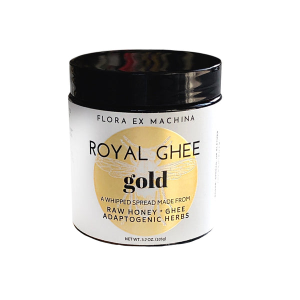 Root & Bones Objects 4 oz / Chaga Royal Ghee Gold