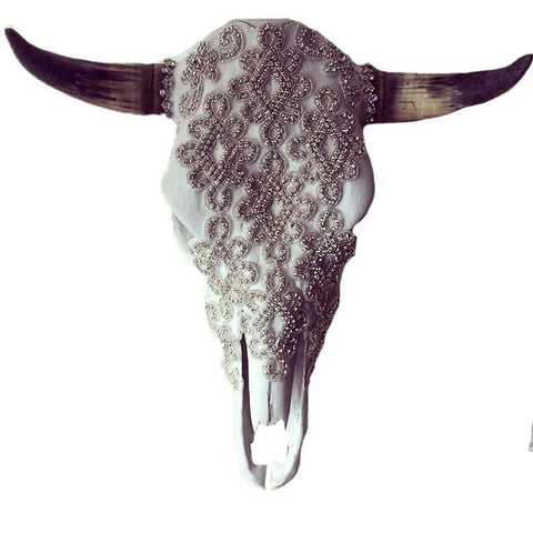 Royal Prism Cow Skull