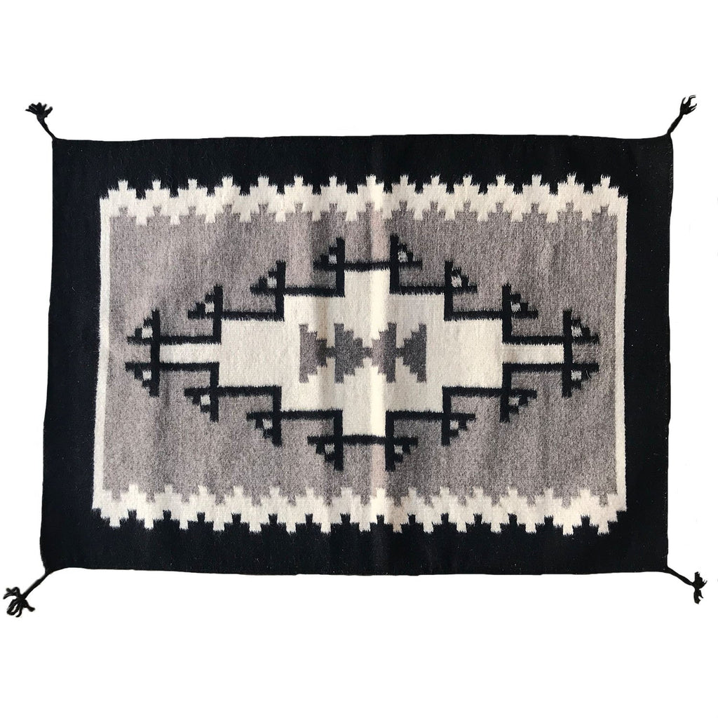 Rugs Objects Grey / FINAL SALE Grey Wolf Zapotec Weaving