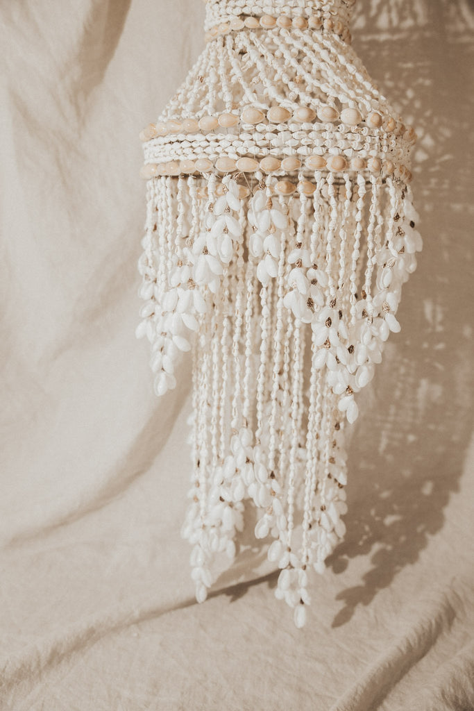 Atlantic Coral Enterprise Objects Seashell / FINAL SALE / 30 Inches Mia Seashell Chandelier