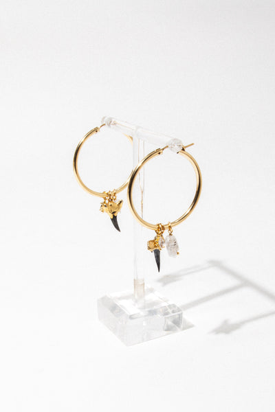 CGM Jewelry Martello Shark Hoops