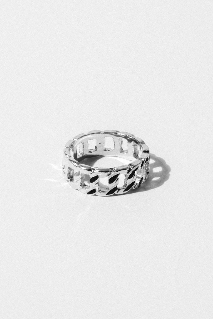 Sparrow Jewelry US 7 / Silver Copy of Jada Link Ring