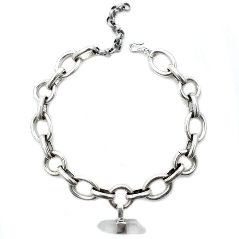 Goddess Jewelry Silver / 12 Inches The Siren Choker