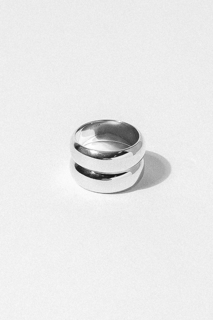 Wildthings Collectables Jewelry US 7 / Silver Double Trouble Ring Silver