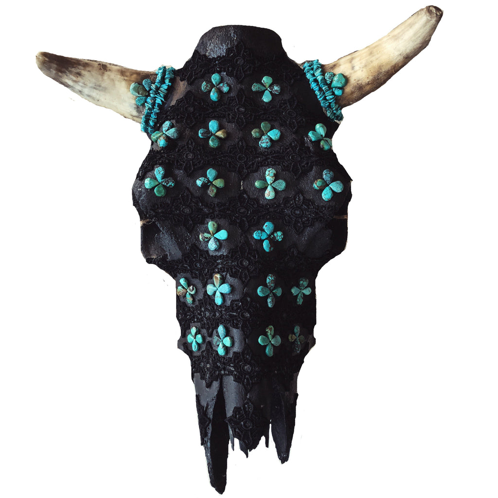 Child of Wild Bones Aiyana Cow Skull