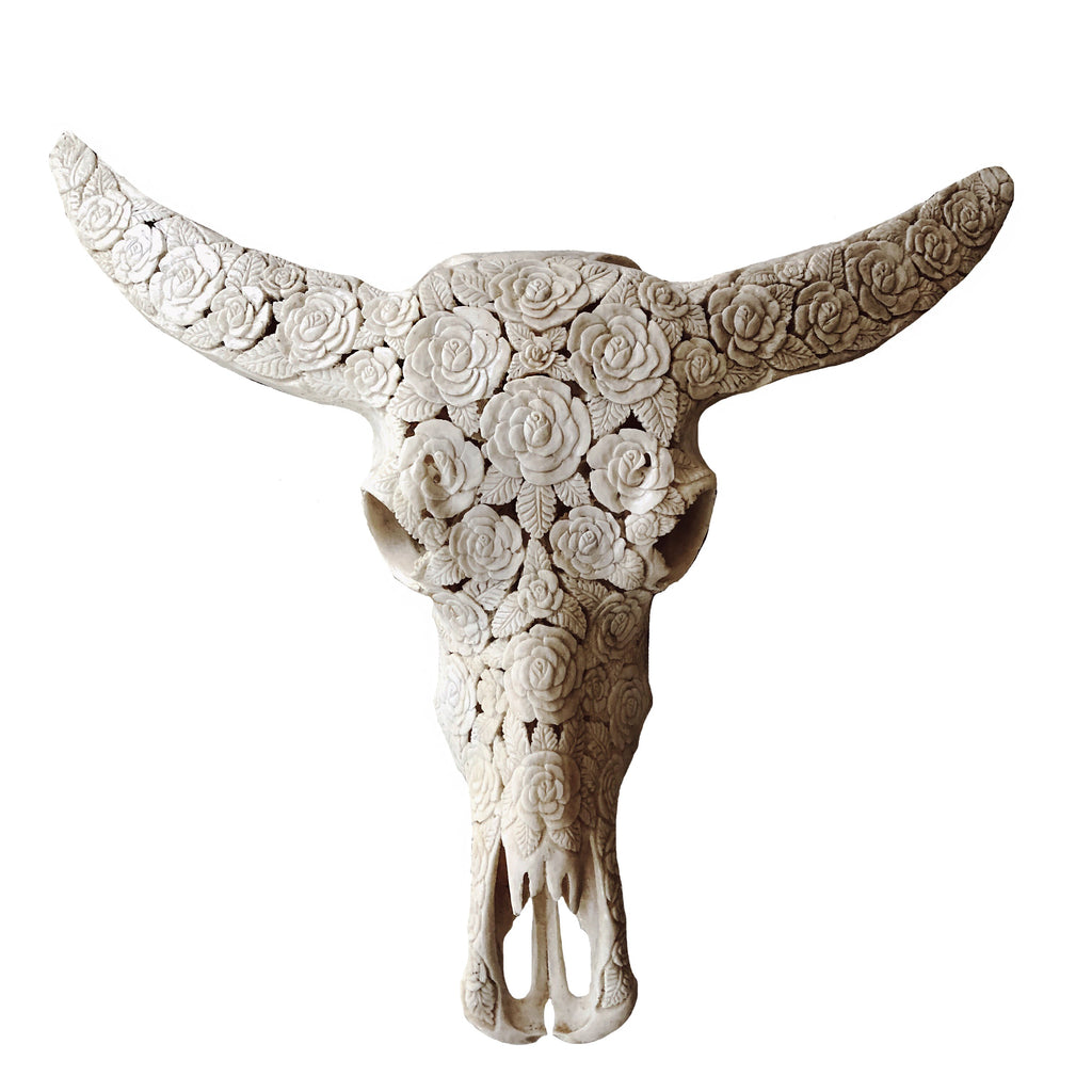 The Seminyak Rose Skull