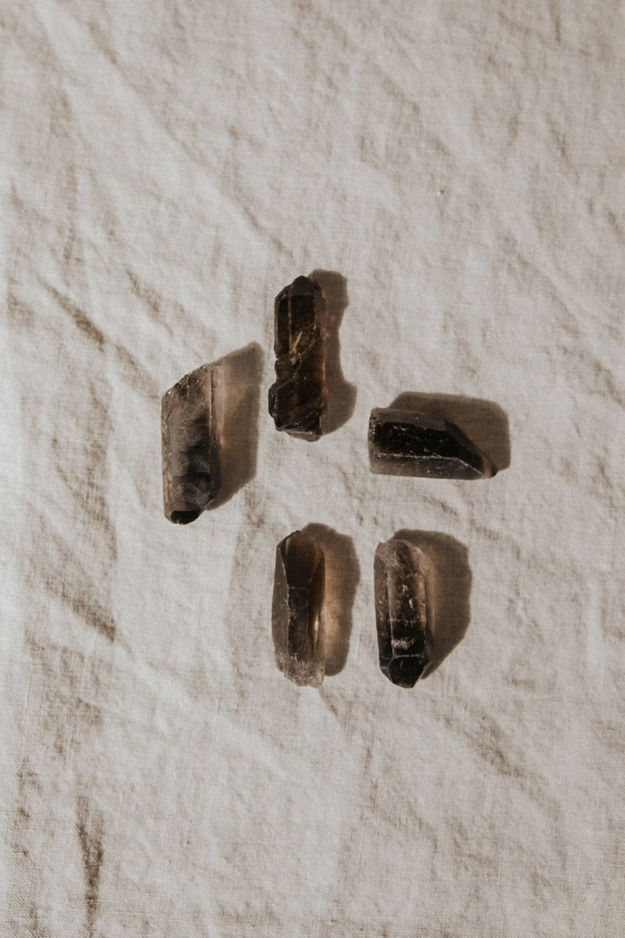 pacific beads Objects Smokey Quartz / FINAL SALE c228