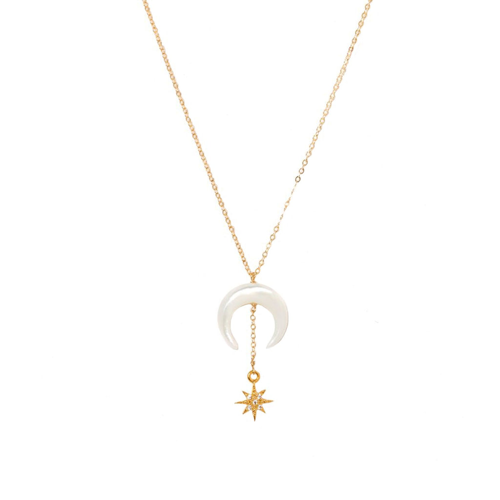 Kozakh Jewelry Gold / 16 Inches Stella Necklace