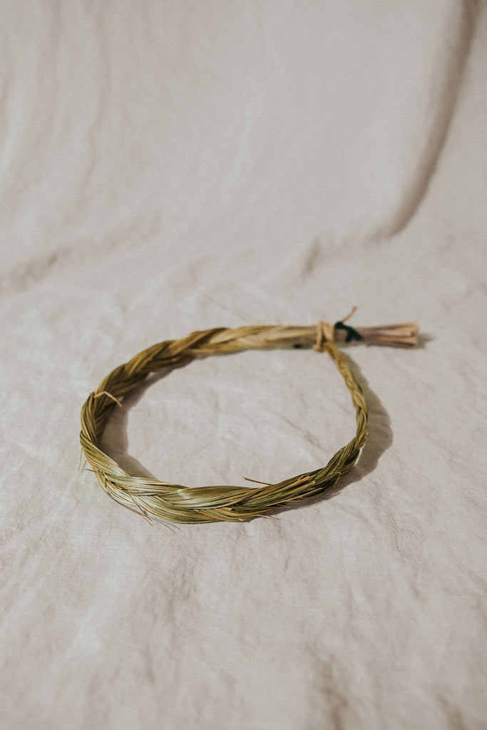 OM Imports Objects Grass / FINAL SALE Sweetgrass Braid