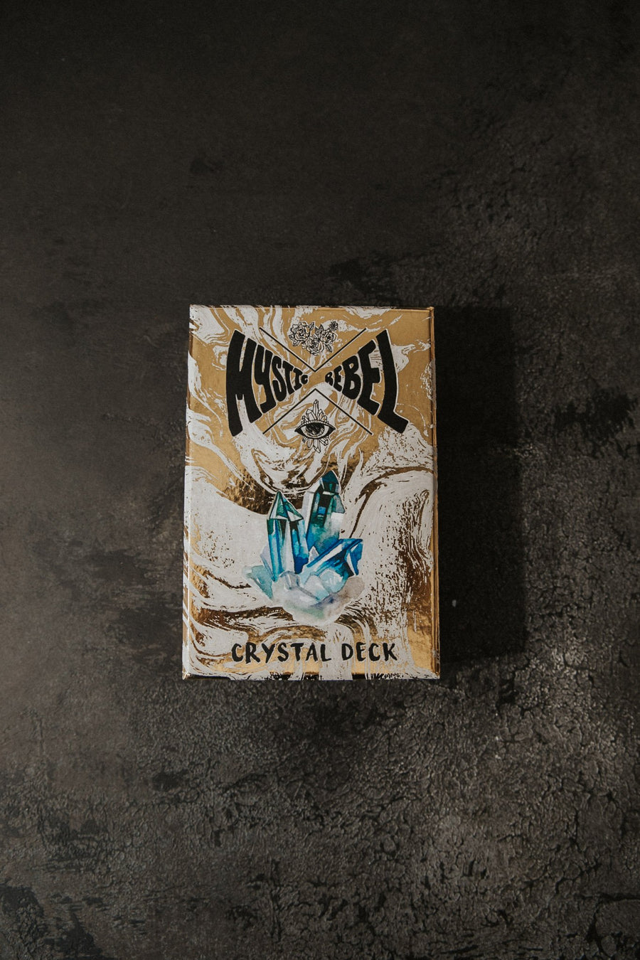 Mystic Rebel Objects Gold / FINAL SALE Mystic Rebel Crystal Deck