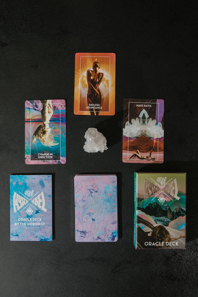 Mystic Rebel Objects Pink / FINAL SALE Mystic Rebel Oracle Deck