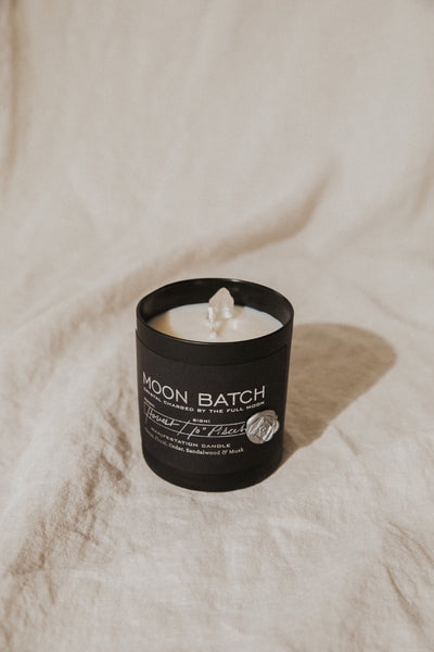 Ritual Provisions Objects Black / FINAL SALE Harvest Moon Batch Candle