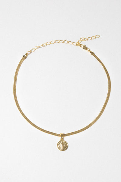 Dona Italia Jewelry Gold / 12 Inches Holy Rule Necklace