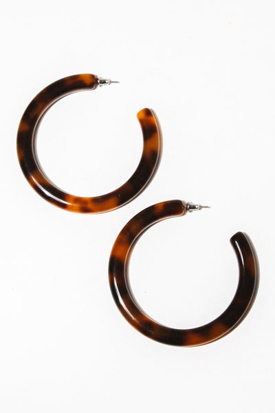 Machete Jewelry Amber Grande Hoops