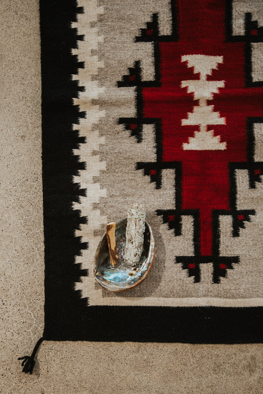 Rugs Objects Red / FINAL SALE Red Dreams Zapotec Weaving