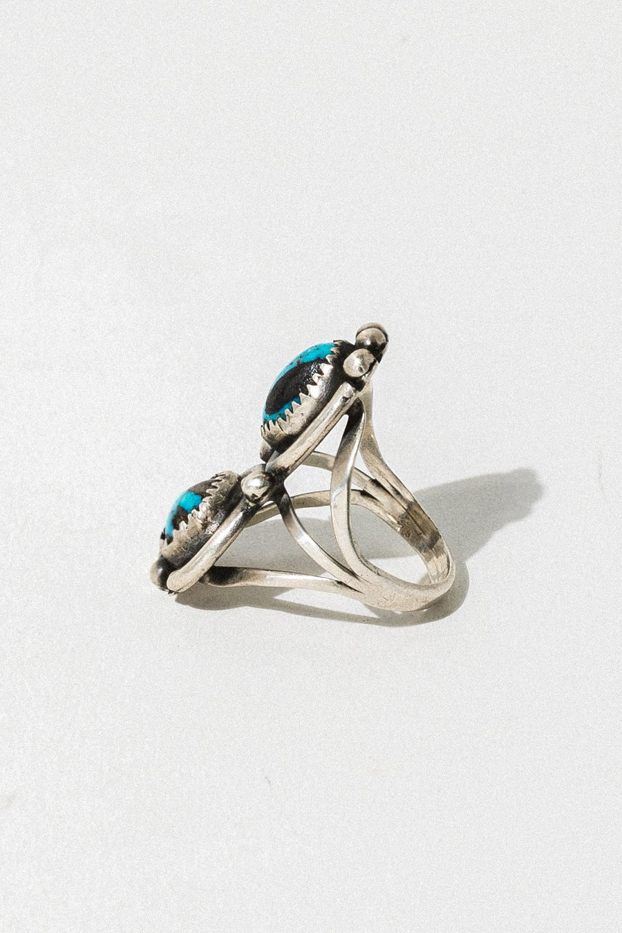 Lyra's Boyfriends Jewelry Silver / Turquoise Teryn Ring