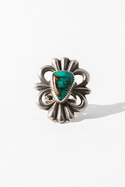 Ayman Jewelry US 6 / Sterling Silver Wild Blossom Flower Ring