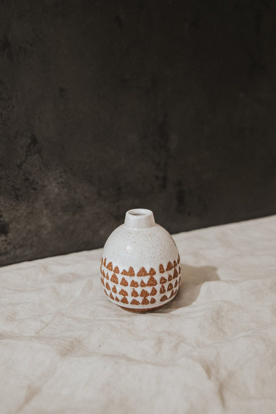Bloomingville Objects White / FINAL SALE Stoneware Vase