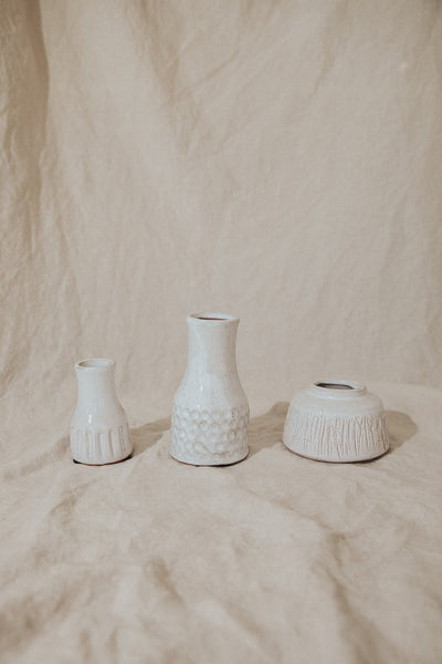 Bloomingville Objects White / FINAL SALE Terracotta Vase Set