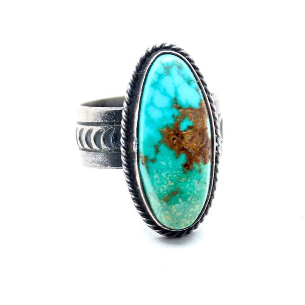 Tides of the Moon Turquoise Ring - Child of Wild  - 1