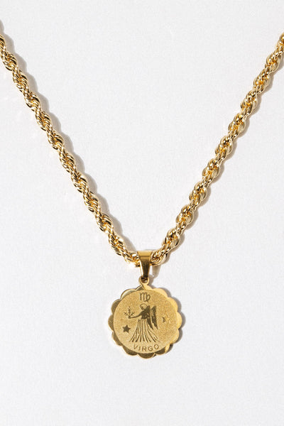 Aimvogue Jewelry Copy of Astrology Necklace