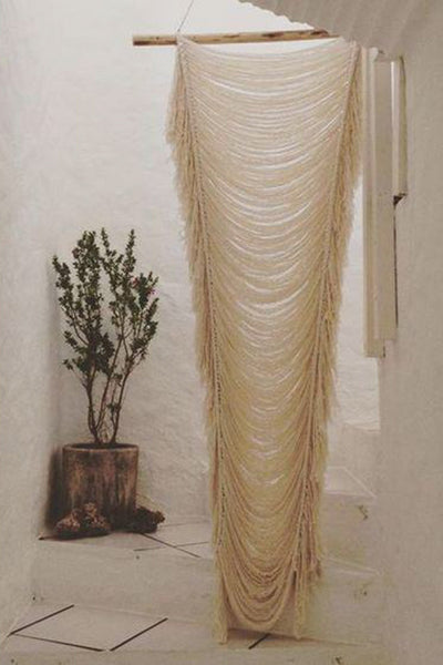 Nakawe Trading Objects Ivory / Single / FINAL SALE Sierra Knot Curtain