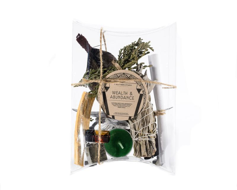 J. Southern Studio Objects Wealth + Abundance Ritual Kit