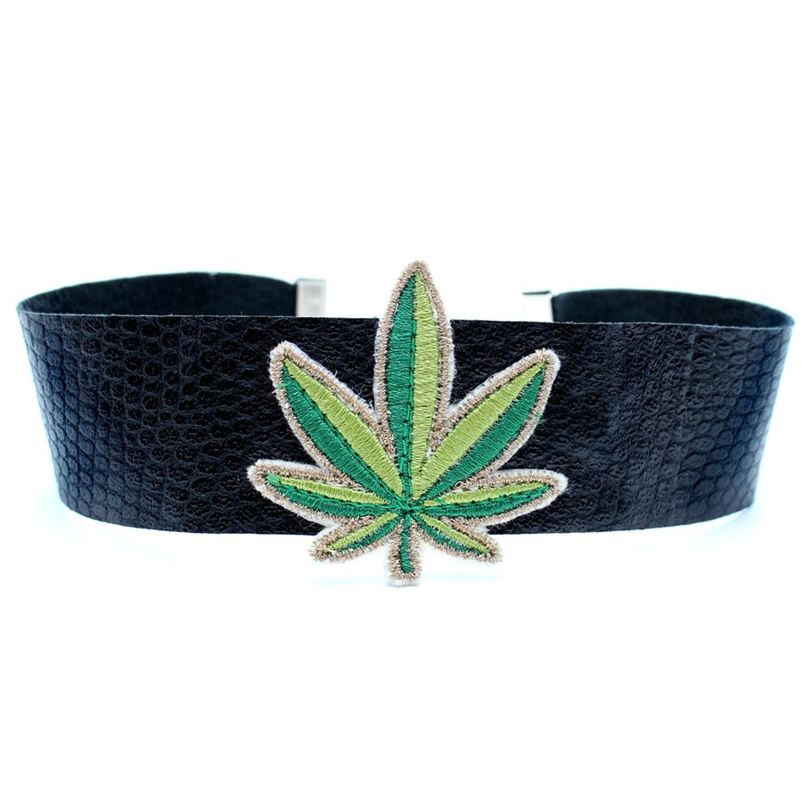 CW collection dead stock FINAL SALE / Black Mary Jane Choker