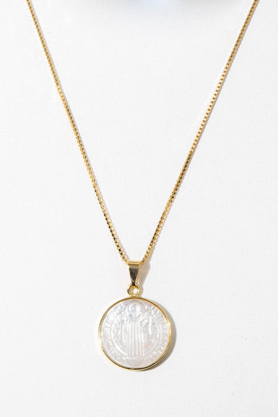 Dona Italia Jewelry Gold / 20 Inches Modern Revelation Pearl Necklace