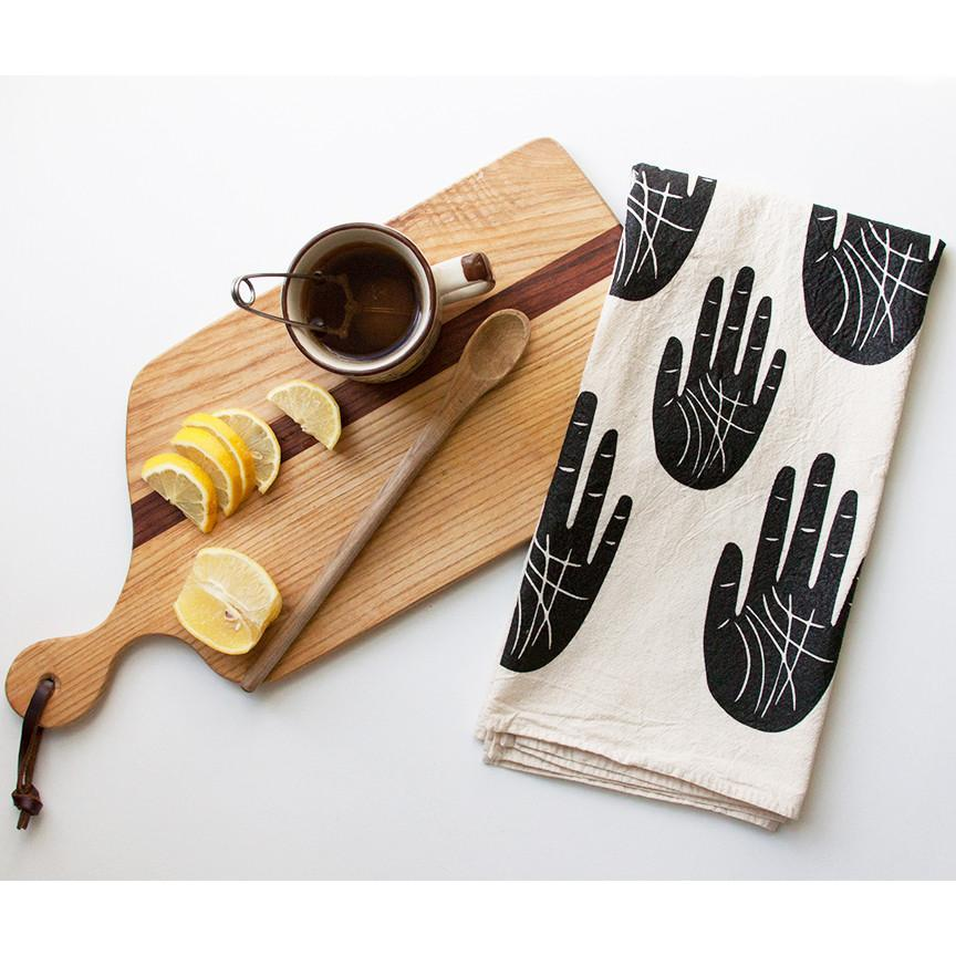 Native Bear Objects Wise Palm Tea Towel