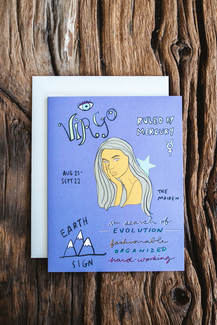 Child of Wild Astrology Greeting Cards