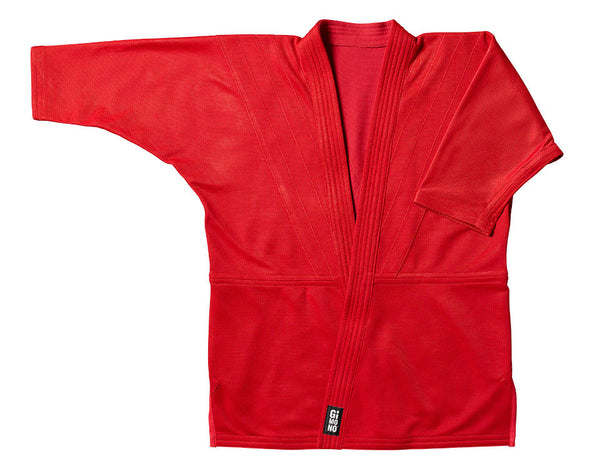 Grappling gi jacket red Gimono performance fightwear