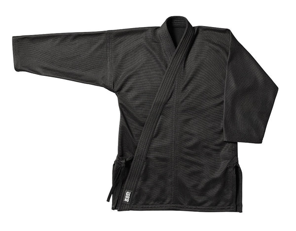 Karate gi jacket black Gimono performance fightwear