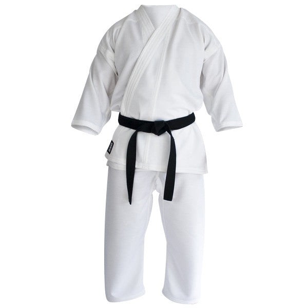 Karate gi white front view Gimono performance fightwear