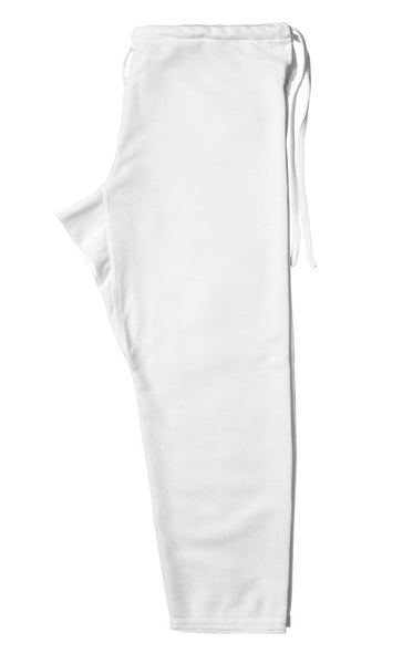 Jiu jitsu BJJ pant white Gimono performance fightwear