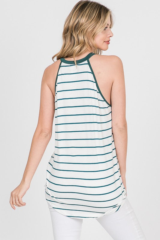 Lovely Melody Striped Spring Tank