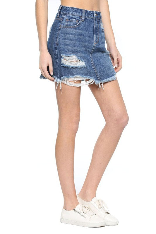 Cello Denim Skirt