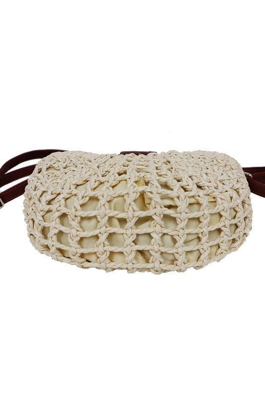 Basket Weave Purse