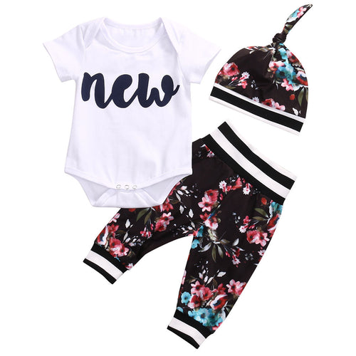 "Baby Floral ""New"" Set"