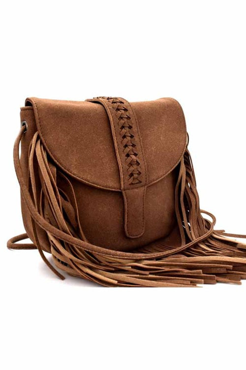Fringe Cross Body Purse